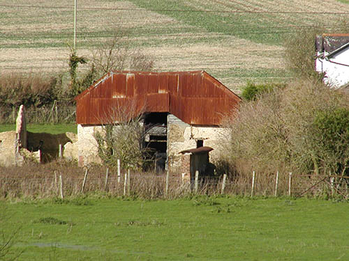 Winterbourne Barn with tin roof