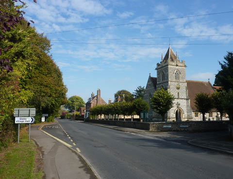Winterbourne Parish Council Wiltshire main street